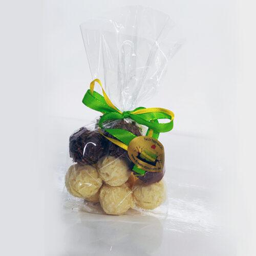 Limette-Karamell-Mischung