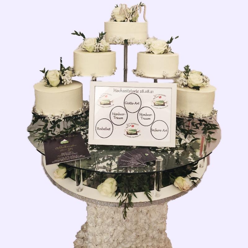 5 Stöckige Hochzeitstorte